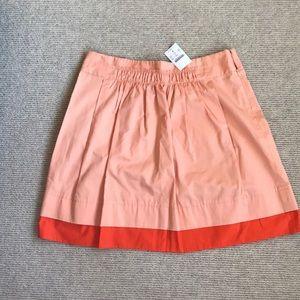 Liteweight cotton mini skirt